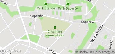 Kościół Pokoju w Świdnicy – mapa