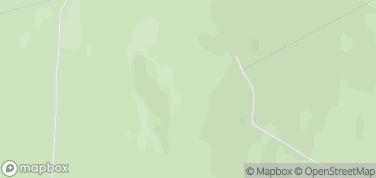 Czarna Góra - 1205 m n.p.m. – mapa