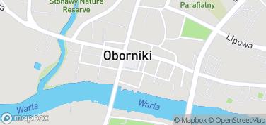 Rynek w Obornikiach – mapa