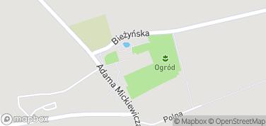 Opactwo Benedyktynów – mapa
