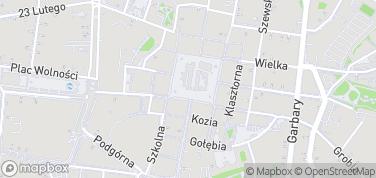 Galeria Miejska Arsenał – mapa