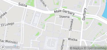 Blubry – mapa