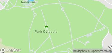 Park Cytadela – mapa