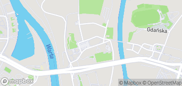 Katedra Poznańska – mapa