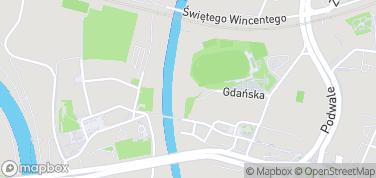 Brama Poznania – mapa