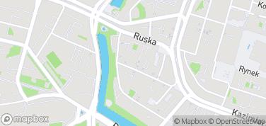 Dzielnica Czterech Świątyń – mapa