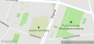 Muzeum Sztuki Cmentarnej – mapa