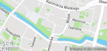 Opera Wrocławska – mapa