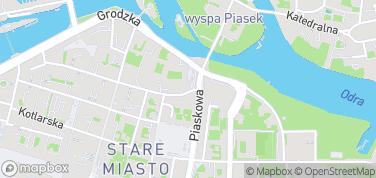Ścieżka historii Wrocławia – mapa