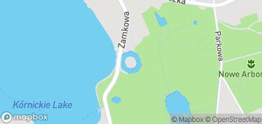 Zamek w Kórniku – mapa