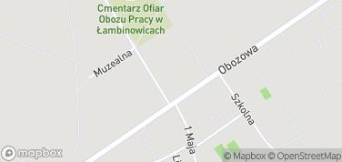 Centralne Muzeum Jeńców Wojennych – mapa