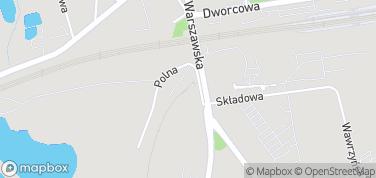 Kolejka Wąskotorowa – mapa