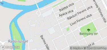 Muzeum Xantusa Janosa w Gyor – mapa