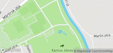 Zoo Xantus Janos - Zoo Gyor – mapa