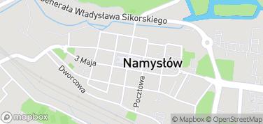 Ratusz w Namysłowie – mapa