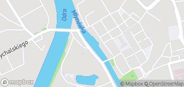 Opolska Wenecja – mapa