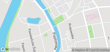 Most Groszowy – mapa