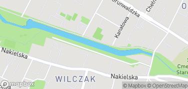 Kanał Bydgoski – mapa