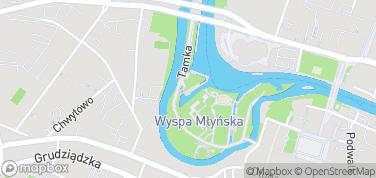 Przystań Bydgoszcz – mapa