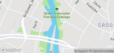 Śluza Miejska – mapa
