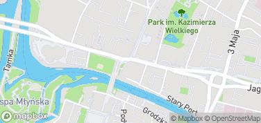Poczta Bydgoszcz – mapa