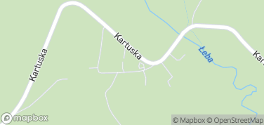 Kaszubski Park Miniatur – mapa