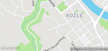 Muzeum Ziemi Kozielskiej – mapa