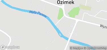 Żelazny Most Wiszący – mapa