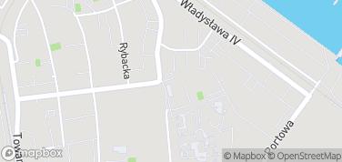 Dom Rybaka – mapa
