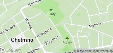 Brama Grudziądzka – mapa