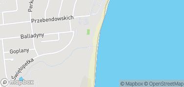 Scena Letnia Teatru Miejskiego w Gdyni – mapa
