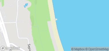 Plaża Kamienny Potok – mapa