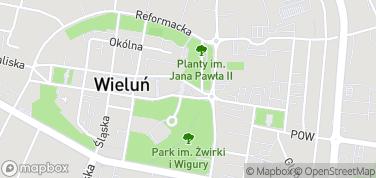 Brama Krakowska i Ratusz – mapa