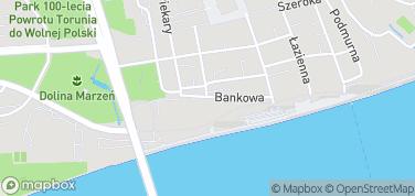 Brama Klasztorna – mapa