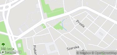 Piernikowe Miasteczko – mapa