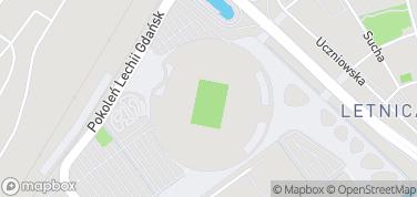 Stadion Energa Gdańsk – mapa