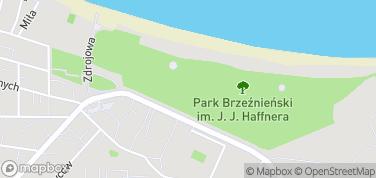 Park Brzeźnieński im. J. J. Haffnera – mapa