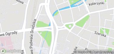 Gdańsk rejsy stylizowanym statkiem – mapa