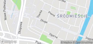 Ulica Długa – mapa