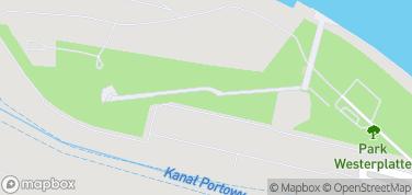 Westerplatte - Ruiny Fortyfikacji – mapa