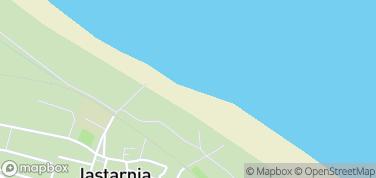 Plaża Jastarnia – mapa