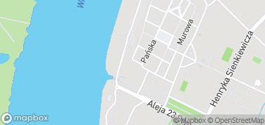 Brama Wodna – mapa