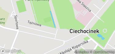 Tężnie – mapa