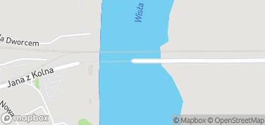 Most Tczewski – mapa
