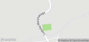 Zamek krzyżacki w Radzyniu Chełmińskim – mapa