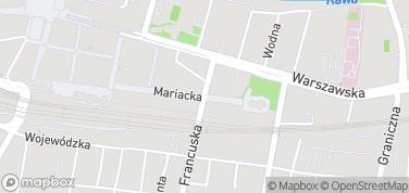 Ulica Mariacka – mapa
