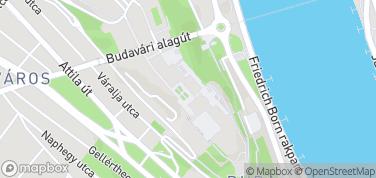 Pałac Budavári-Zamek Królewski – mapa