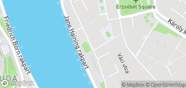 Vigadó – mapa