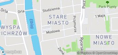 Katedra św. Mikołaja – mapa