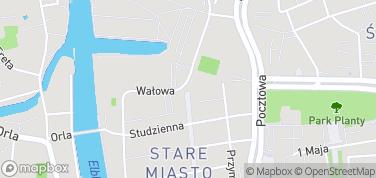Brama Targowa – mapa